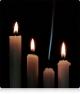Чатыры свечкі