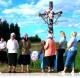 Беларусь, крыжамі пазначаная