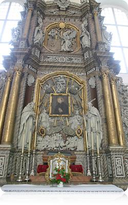 Алтар св. Францішка Ксаверыя ў гродзенскай катэдры